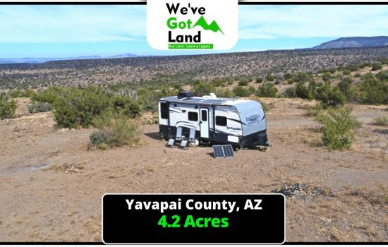 4.2 Acres Land in Paulden, AZ