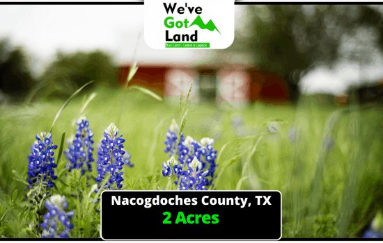 2 Texas Acres with Power and Water!