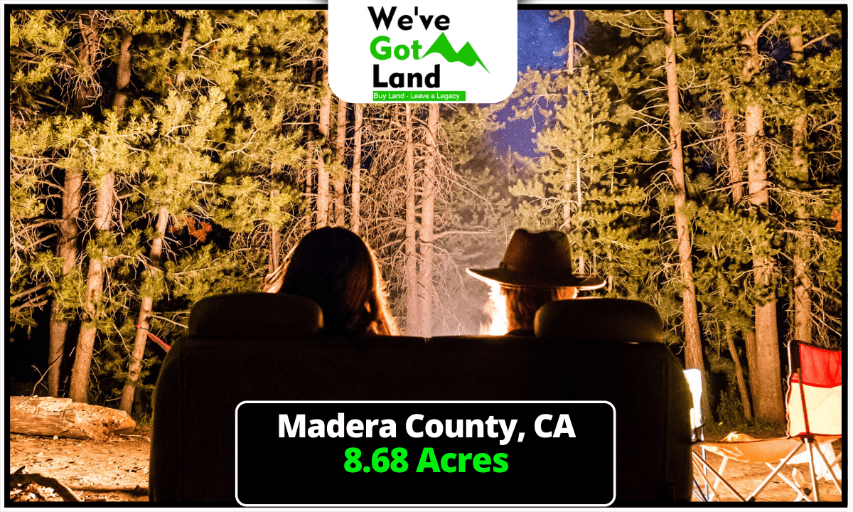 8.68 Acres in Madera County, CA