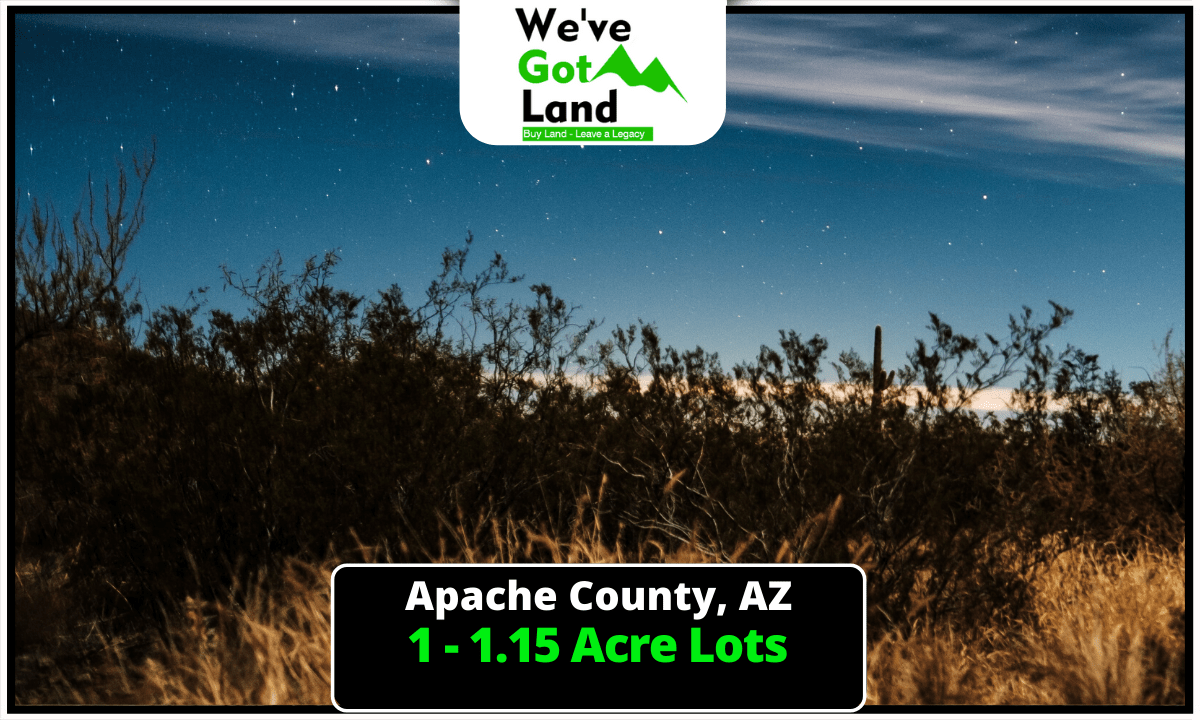4 Lots To Choose From in Apache County, AZ