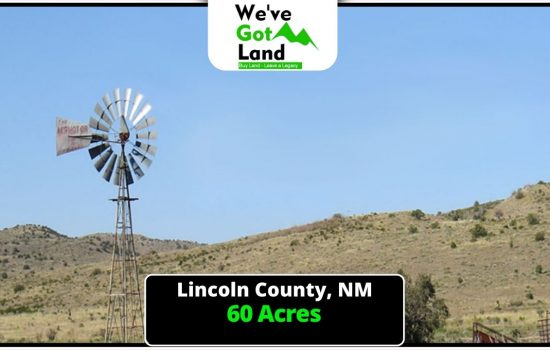 60 Acres in Lincoln County, NM