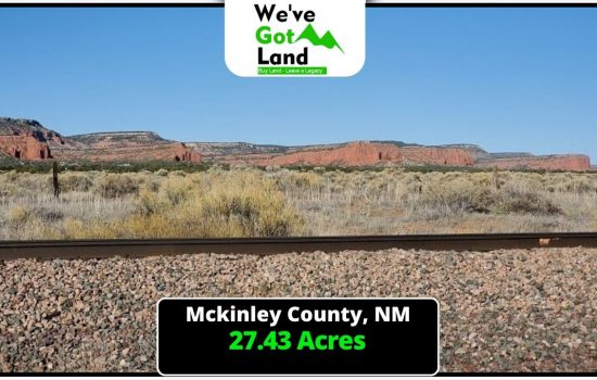 27.43 Acres in McKinley County, NM