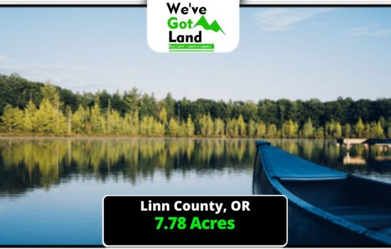 7.78 Acres in Foster, OR