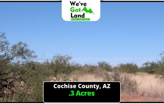 .3 Acres in Douglas, AZ
