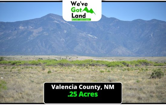 .25 Acre lot in Valencia County, NM