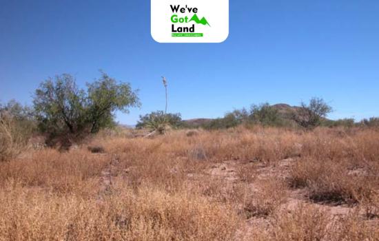 Three Arizona Lots 0.82 acres each