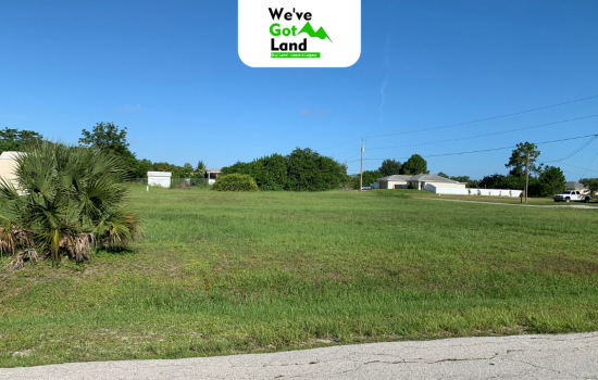 Two adjacent lots in Lee County, FL – No HOA fees